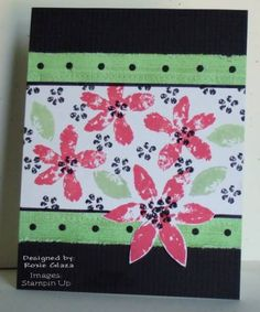 Simple Layers by Rox71 - Cards and Paper Crafts at Splitcoaststampers