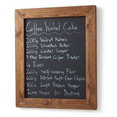Handmade Chalk//Blackboard//Notice//Message Board Memo Bedroom Home Kitchen Wedding