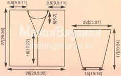 Вязание для детей кардиган и свитер, схема сборки