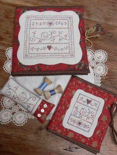 Little bird sewing set