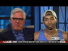 """Prince Ea talks to Glenn Beck   Yes, you heard right - """"It comes from INSIDE! Love, peace, compassion."""""""