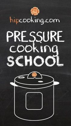 Here's a preview of the new FREE video series from hip: PRESSURE COOKING SCHOOL