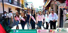 Candidatas a reina de la #FNSM2015 #Aguascalientes