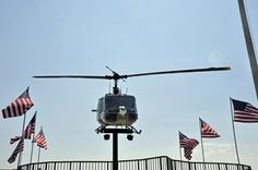 Huey helicopter - The Huey is the symbol for the Vietnam Era. The Army, Air Force, Navy, and Marine Corps all flew missions in the Huey aircraft. Grand Forks Afb, Star Spangled Banner, Vietnam War, Marine Corps, Armed Forces, Planes, Squad, Air Force, Fighter Jets