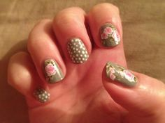 Cath Kidston inspired nails  http://nailsnailed.blogspot.co.uk/2012/09/nailed-wears-cath-kidston-inspired-nails.html#