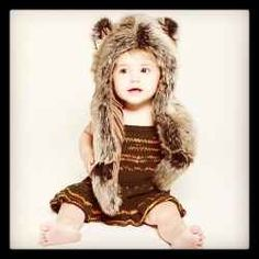 Spirithoods Kids Grey Wolf Baby Hood Those with a wolf spirit are loyal creatures. The wolf is a social animal and a great communicator, often teaching those around it. Cute Kids Halloween Costumes, Best Winter Hats, Animal Hats, Cutest Thing Ever, Kids Hats, My Children, Cool Kids, Spirit Hood, Wolf