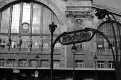 Paris, France - Gare du Nord Station remember using for trips to NE France and Belgium