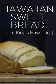 This is one of my favorite kinds of bread, especially as toast with homemade jam on top! It's also delicious as french toast. I use my bread machine to prep the dough, and then bake Hawaiian Sweet Bread Machine Recipe, Hawaiian Sweet Breads, Sweet Bread Machine Recipes, Hawaiian Recipes, Bread Machine Bread, Bread Maker Recipes, Sweet Bread Recipe For Bread Maker, Recipes With White Bread, Gastronomia