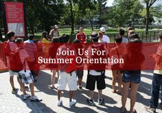 Our summer orientation program helps introduce new students to our campus, our students, and our staff. Register for a one-day session today.