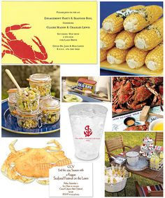 How to Host a Crab Feast by finestationery, via Flickr