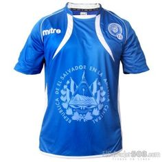 El Salvador La Selecta jersey #fútbol... Even though they're not exactly the best soccer team (;