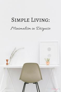 Minimalism is all about contentment, and contentment is the only thing that truly brings you joy in life. Find out why minimalism leads to a full life! Minimal Living, Simple Living, Minimalist Lifestyle, Minimalist Home, Minimalist Design, Layout, Slow Living, Life Organization, Organizing