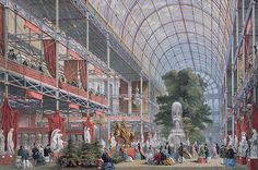 London World's Fair 1851. The Crystal Palace