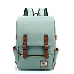 2017 Vintage Canvas Backpack Women Travel Rucksack Laptop School Bags for teenagers girls mochila Men shoulder Bag Female Backpack Bags, Leather Backpack, Fashion Backpack, Travel Backpack, Retro Backpack, Diaper Backpack, Travel Fashion, Diaper Bags, Hiking Backpack