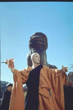 Kung Fu. Starring David Carradine (pictured), Radames Pera and Keye Luke ran on ABC from 1972-1975. See props from this show and more at the Television Out of the Box Exhibit.http://bit.ly/TVOTB_Pinterest