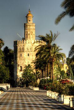 Torre del oro,  Sevilla, Spain ..