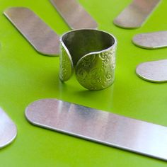Ear in the Envelope Inc - Metal Stamping Jewelry Blog: Aluminum Ring Blanks - NEW AND IMPROVED!!!!