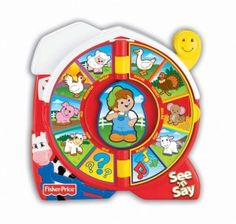 Fisher Price Little People See n Say Farmer Eddie Says NIB for sale online Silly Songs, Fun Songs, Fisher Price, Toys For Girls, Gifts For Boys, Toddler Toys, Baby Toys, Toddler Fun, Fun Facts For Kids