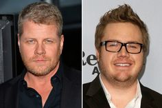 Cast additions in Season 4: Josh McDermitt (R) as Dr. Eugene Porter and Michael Cudlitz (L) as Army Sgt. Abraham Ford.