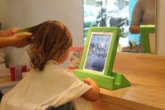 Resultado de imagen para peluquerias para niños Kids Salon, Kids Spa, Hair, Salon Ideas, Barcelona, Awesome, Interior, Color, Kids Barber Shop