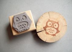 Owl Rubber Stamp - Forest Critter Woodland Animal Autumn Fall Baby Owl Stamp by stampcouture on Etsy https://www.etsy.com/listing/219858894/owl-rubber-stamp-forest-critter-woodland