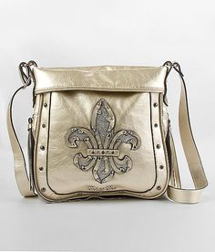 """Miss Me Metallic Crossbody Purse"" www.buckle.com"