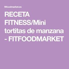 RECETA FITNESS/Mini tortitas de manzana - FITFOODMARKET