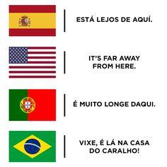 """Não existe """"eita"""" em mais nenhum outro idioma."""