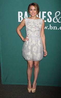 Lela Rose dress + Casadei heels