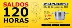 Amostras e Passatempos: Saldos 120 Horas by IKEA