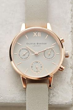 Ive always love this Gorgeous Olivia Burton Chrono Watch! Jewelry Box, Jewelry Bracelets, Jewelry Watches, Jewelry Accessories, Fashion Accessories, Women's Watches, Tom Ford Makeup, Ring Verlobung, Fashion Watches
