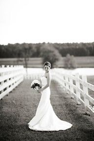 bridal portrait- this on a bridge would be beautiful
