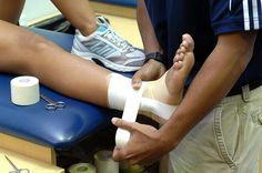 FIU Athletic Training - Ankle Taping