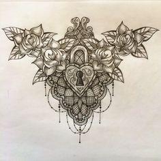 tattoo cadeado..