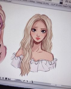 I tried to draw Jinsoul in that iconic girl front stage look