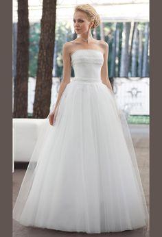Свадебное а силуэт платье с юбкой из фатина | Wedding and the silhouette of the dress with skirt of tulle