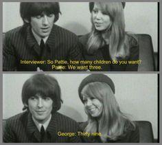 ♥♥♥♥George H. Harrison♥♥♥♥  ♥♥Pattie Boyd-Harrison♥♥