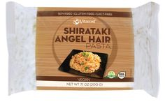 Vitacost Shirataki Angel Hair Pasta - Non-GMO and Gluten Free