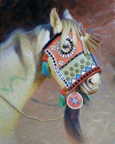 Crow Thunder Horse by Tom Saubert