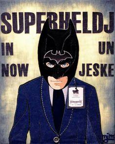 Superheld in een nieuw jasje