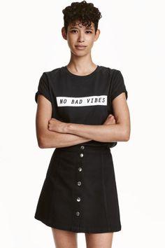T-shirt con motivo | H&M