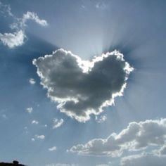 Heart in the clouds <3