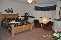 Paradise Palms - 6 bedroom vacation rental near Disney World - Master Suite