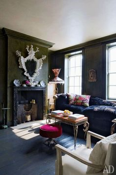 Дом в Лондоне, дизайнер Дэвид Картер