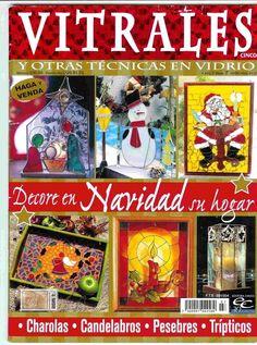 REVISTAS DE MANUALIDADES Free: Vitrales especial navidad