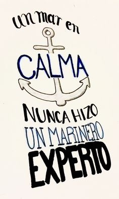 Frase ilustrada marinero