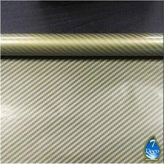 0,5m * * * * * * * * 10M Transparent Film d'impression de transfert de l'eau en fibre de carbone Doré # ht67-s, hydrographique Film,…