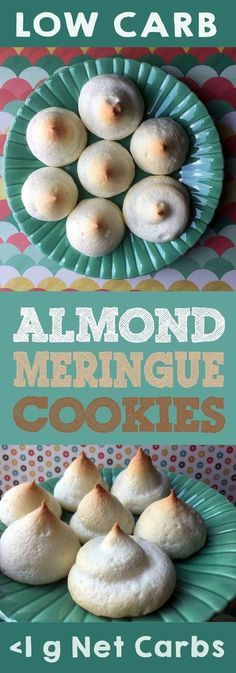 These cookies take a very very long time to bake but they are worth the wait. This recipe is Low Carb Keto Paleo Atkins THM Sugar Free and Gluten Free. Meringue Cookies, Keto Cookies, Cookies Et Biscuits, Almond Cookies, Chocolate Cookies, Chip Cookies, Meringue Kisses, Pumpkin Cookies, Shortbread Cookies
