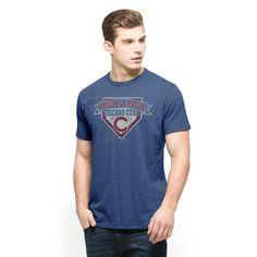 Chicago Cubs 47 Brand 2015 NLCS MLB Postseason Scrum Blue T-Shirt