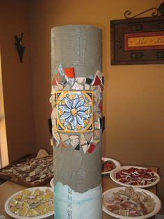 The Making of a Mosaic Bird Bath GOOD TUTORIAL